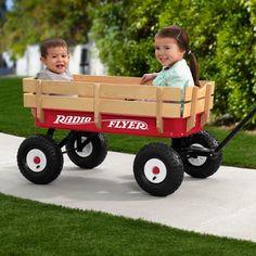 Radio Flyer All-Terrain Kids Wagon #wagon #kids #terrain #flyer #radio