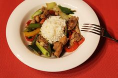 Restované kuře se zeleninou | Asijská kuchyně jen tak z hlavy - Powered by @ultimaterecipe
