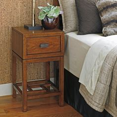 Tommy Bahama by Lexington Home Brands Island Fusion Hana 1 Drawer Nightstand | from hayneedle.com
