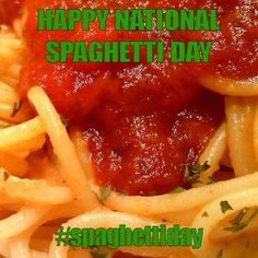 January 4, Spaghetti, Day, Foods, Drinks, Food Food, Drinking, Beverages, Drink