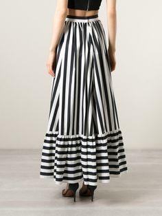 Dolce & Gabbana длинная юбка в полоску