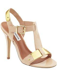 blush and gold sandal heels Styling Ever After sandal heels  2013 Fashion High Heels 