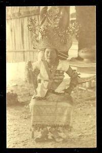 Lampung-photo-postcard-Bride-Crown-Costume-Jewels-Sumatra-Indonesia-ca-1910