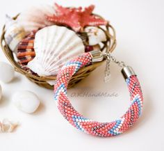"Браслет ""Морская звезда""/ bracelet ""Starfish"" @o.k.handmade  #beadsbracelet #beadscrochet #instacrochet #madeinukraine #starfish #summerbracelets #бисер #браслетизбисера #морскаязвезда #яркийбраслет #хендмейд #сделановукраине #назаказ by o.k.handmade"