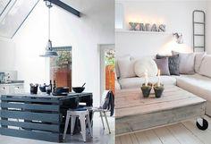 Os Móveis com paletes de Madeira podem ser hoje em dia uma solução bastante económica para quem quer mobilar a casa com pouco dinheiro.