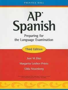 This is the Bible of AP Spanish. I need to really work on to doing well.