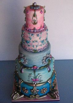 Beautiful Antique style cake