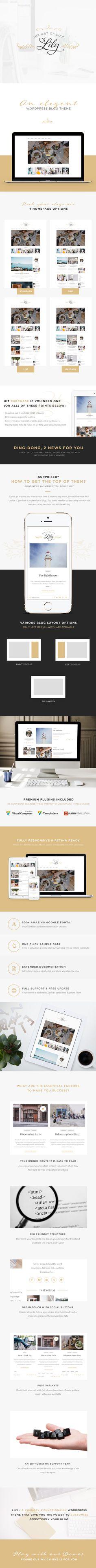 Lily - An Elegant WordPress Blog Theme  http://demo.thememove.com/?item=lily