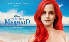 "Emma Watson to play Ariel, and Daniel Radcliffe will play Prince Eric in live action, ""The Little Mermaid."""
