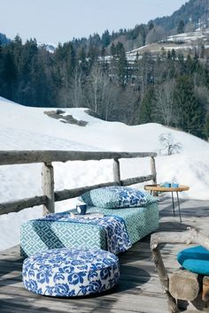 UV Pro Inside Out collection. Outdoor Fabric, Inside Out, Outdoor Furniture, Outdoor Decor, Comforters, Patio, Blanket, Collection, Fabrics