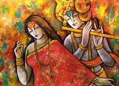 Lord Krishna Paintings for Sale, Lord Krishna Art Paintings Online