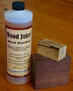 Wood Juice for preventing cracks in turning blanks.