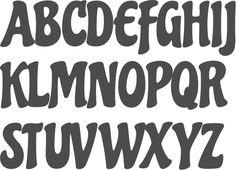 MyFonts: Bubble fonts
