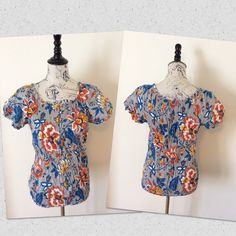 """IZOD CRINKLE TOP Button detail crinkle top. Like new. Worn once. Length from top to bottom 26"""" & underarm to underarm 15"""". KINDLY ASK ANY QUESTIONS IF NEEDED. IZOD Tops"""