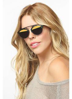 So Real 3 Designer Inspired Flat Top Sunglasses