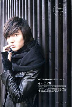 Lee Min Ho Leather