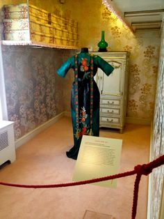 Costume in Hillwood Estate