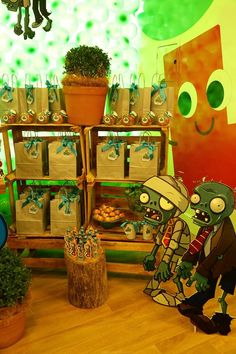 Festa Infantil - Plants vs Zombies - Party Decor - Game Party Decor Plants vs Zombies - Party Decor