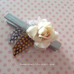 FedeScrap: Mollette di legno romantiche