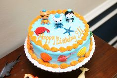 My little man's Octonauts party with free printable hook ups!