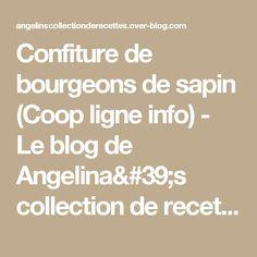 Confiture de bourgeons de sapin (Coop ligne info) - Le blog de Angelina's collection de recettes