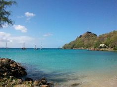 Pigeon Island National Park, St. Lucia, Caribbean