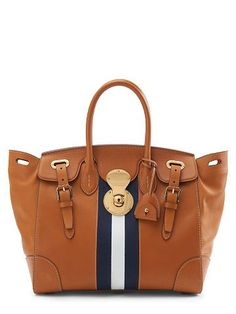 Ralph Lauren Soft Ricky With Sailing Stripe Handbags Uk