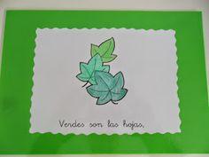 Materiales para Educación Infantil: POESÍA COLOR VERDE