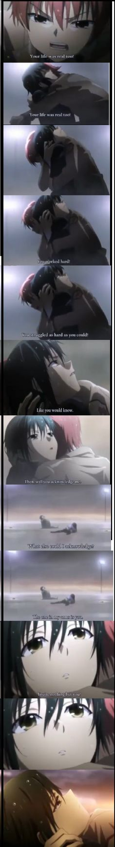 Random Angel Beats Yaoi moment by dark0kun