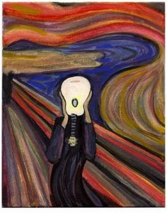 Amazing interpretation of Scream. Haven't seen this one before!
