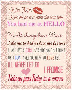valentine quotations wife