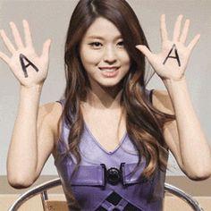 AOA 설현 Seolhyun 雪炫 움짤2014.12