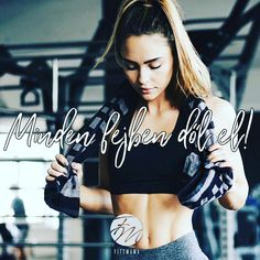 Minden fejben dől el. Wrestling, Gym, Workout, Motivation, Lifestyle, Fitness, Quotes, Sports, Women
