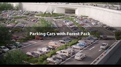 Parking Cars with Forest Pack