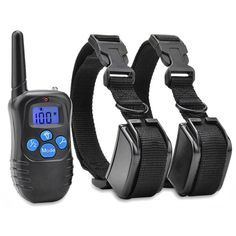 Commart Electric Vibra Remote 2Dog Shock Pet Training Collar Waterproof Rechargeable LCD Shipping From US *** Want to know more, click on the image. (This is an affiliate link and I receive a commission for the sales)