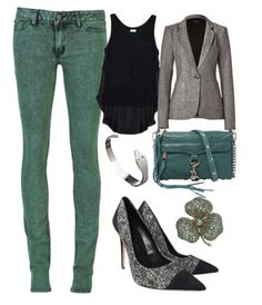 Casual Outfit, but with the shoes and the blazer it bumps it up a couple of notches