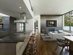 Modern #Home #Design With a Little Extra: Hillsborough II Residence by MAK Studio #Architects