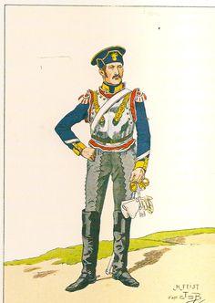 Sergente del 7 rgt. Corazzieri francesi