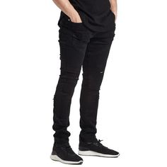 New Ripped Biker Jeans Classic Fashion Designer Brand Stretch Men's Skinny Pencilheavengifs – Men's style, accessories, mens fashion trends 2020 Ripped Biker Jeans, Fly Dressing, Indie Fashion, Fashion Trends, Mens Boots Fashion, Plus Size Swimsuits, Classic Style, Classic Fashion, Super Skinny