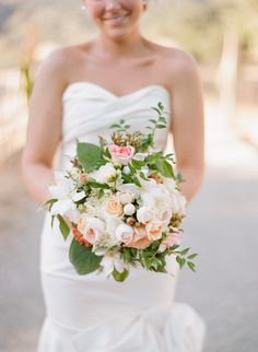 #bouquet  Photography: Silvana Difranco - silvanadifranco.com  Read More: http://www.stylemepretty.com/2014/02/20/gilroy-california-ranch-wedding/