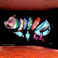 Chopped #ravenectar #streetart #art #graffiti