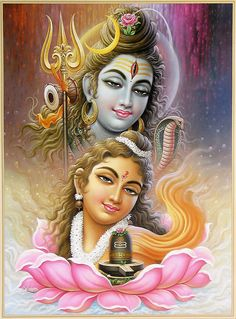 Shiv Shakti - I love Indian art