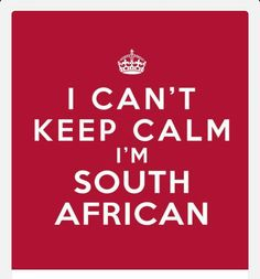 Especially when the Boks lead by 1 point & the All Blacks has a scrum 5 metres from the SA line & there's, let's see, er, 30 seconds left! Union Of South Africa, South African Flag, African Jokes, Cant Keep Calm, New South, My Land, Afrikaans, Album, Words Quotes