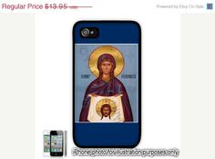 Saint St Veronica Painting Photo iPhone 4 4S Case by BlingSity, $11.86
