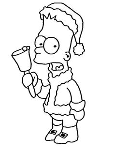 The Simpsons Coloring Pages 23