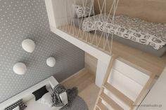 skandinavische Kinderzimmer von MIRAI STUDIO