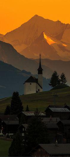 Gluringen, Goms, canton of Valais, Switzerland.