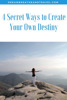 If you truly want to live life on your own terms, anything is possible. Here are 4 ways that I've discovered to help you to create your own destiny. Spiritual Wellness, Spiritual Enlightenment, Spiritual Practices, Spirituality, Tell The World, Rest Of The World, Power Of Now, Night Routine, Dbt