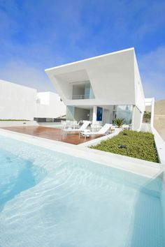 House Playa El Golf H4 by RRMR Arquitectos - The outside is gorgeous, but the amount of natural light inside is  amazing. #House