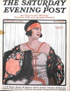 saturday evening post october 1926 | Cover of The Saturday Evening Post January 19, 1924